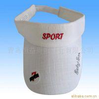 棒球帽子男女夏天旅游遮阳帽太阳帽网球帽运动帽无顶帽空顶帽户外
