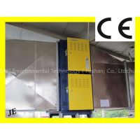Nodular Electrostatic Air Cleaner for HVAC Ventilation System
