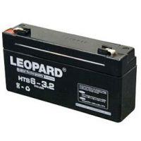 美洲豹蓄电池 LEOPARD蓄电池 美洲豹HTS6-3.2电池 美洲豹6V3.2AH电池代理销售