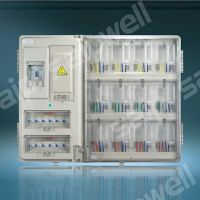 小区12户防窃电配电箱 单相透明电表箱 预付费电表箱 插卡式表箱