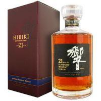 洋酒 Suntory Hibiki 日本三得利 响牌21年 日本威士忌乡音 有盒