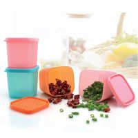 多功能迷你保鲜盒 微波冷藏密封盒厨房塑料小保鲜盒