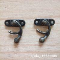 供应古青铜金属箱包礼品盒锁扣 牛角锁扣 仿古锁扣