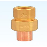 供应承口内螺纹活接头 铜接头 铜配件