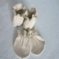 竹纤维新生母婴幼儿童宝宝防抓脸护保暖手脚部针织套厂家用品批发