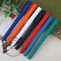 医生专用笔中性笔处方笔 蓝黑芯|插套黑色磨砂中性笔 性价比高|笔海文具