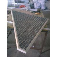 淄博生产订制方中圆牌QH-10异型平铺型和坑内铝合金丙纶丝地垫