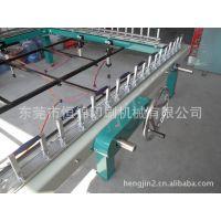 深圳生产手动机械式拉网机 恒锦拉网机 高张力手轮式绷网机