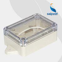 【厂家直销】83*58*33带耳透明盖塑料防水接线盒 电缆接头保护盒