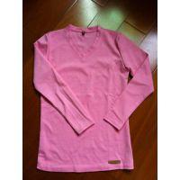 2014秋冬新款大码女装加绒加厚长袖打底衫T恤中长款秋装上衣保暖