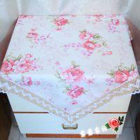 田园桌布蕾丝台布餐桌布茶几巾桌布 钢琴罩防尘布圆桌布