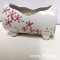 厂家直销 韩国多肉手绘花盆 家居创意花盆 款式多样