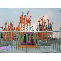 袋鼠跳、弹跳袋鼠儿童游艺设施许昌巨龙游乐