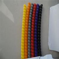 矿山机械用彩色胶管螺旋保护套 2米一根