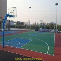 中山市球场地坪漆施工-彩色球场建设