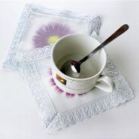 高档防水防油复合桌布 餐桌垫 止滑垫 防热防烫 盘子垫 杯垫
