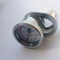 乔木电气矿用马蹄形压力表带锁紧套DZ-40单体液压支架用测压仪