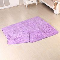 批发居家必备 超细纤维超柔防滑丝毛地毯 地垫 门垫40*60cm