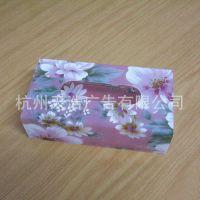 亚克力婚庆纸巾盒/花色纸巾盒/定做纸巾盒/有机玻璃餐巾纸盒