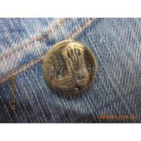 (厂家直销)供应各种纽扣、摇头铁工字扣、固定工字扣