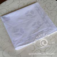 工厂专业供应 星级酒店餐厅布草 素色 提花口布 桌布 全棉餐巾