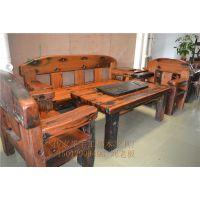 供应船木沙发 独板船木沙发 实木沙发 沙发套装 木沙发 客厅沙发