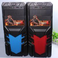 厂家直销旭旺游戏机箱  加厚型台式机电脑游戏机箱 电源上置防尘