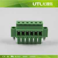 PCB接线端子MA1.5/VRF3.5/3.81 UTL插拔式接线端子  铜接线端子