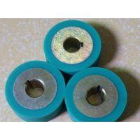 供应耐高温硅胶轮/胶轮/聚氨脂胶轮/输纸轮/压纸轮