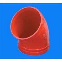 供应消防用沟槽管件、盼忠建材(图)、淄博沟槽管件