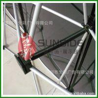 深圳生彩 供应宣传广告器材 铝合金拉网展架 精美画面 高档实惠
