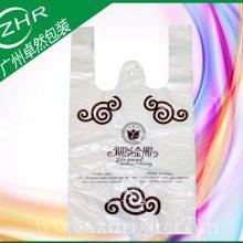 广州厂家供应订做饭店包装袋 打包pe塑料袋 塑料宣传袋 可印刷各类彩图套位准确