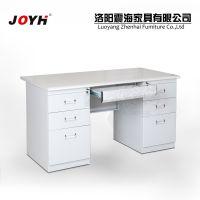 厂家直销 6抽台式员工电脑办公桌 现代简易时尚家用写字桌