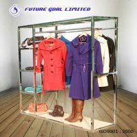 【外销品质】服装金属展示架 卖场服饰展示架 多功能立式服装货架