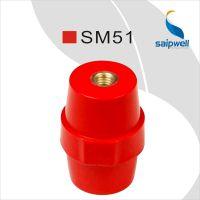 saipwell供应SM51树脂绝缘子 低压绝缘子 进口红色绝缘子