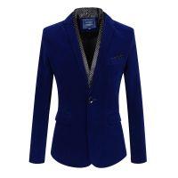 供应批发一件代发时尚男装 2014秋装新款男式休闲西装 3色 tpt4Cp2