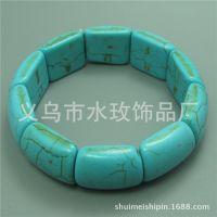 小桥形绿松石手链 大气优雅男女款首饰 水玫饰品批发 TB02-1