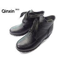 批发2014新款冬季真皮妈妈棉靴保暖深口真皮单鞋中老年女短靴棉鞋