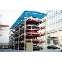 升降横移式立体停车设备生产厂家 立体停车库价格是多少