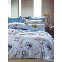 Cute Durable Comfortable Flat Cotton Bedroom Sheet Sets , Single Bed Set