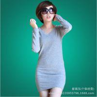 2014秋季韩版新款打底衫 秋季女t恤 女式t恤长袖打底衫秋装女长袖