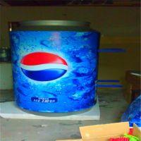 仿真饮料可口可乐瓶树脂彩绘玻璃钢冷饮门店形象摆件冰工厂雕塑 玻璃钢啤酒瓶雕塑 展览模型制作