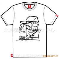 印制个性T恤衫个性服装(图)