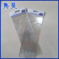 厂家定做 opp透明塑料卡头袋 opp复合塑料袋卡头袋