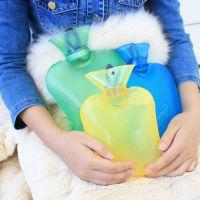 批发注水式热水袋  加厚透明橡胶热水袋  安全防爆热水袋