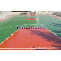 东莞深圳广州硅PU球场丙烯酸篮球场塑胶跑道运动场地施工