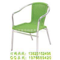 深圳嘉思特批发 PE仿藤铝合金椅 广东省户外休闲椅子