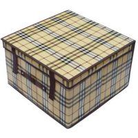 厂家供应无纺布防潮防水大号收纳箱 折叠收纳盒 储物箱