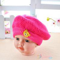 童帽 秋冬儿童毛线帽子 宝宝套头帽 加绒加厚婴幼儿针织帽