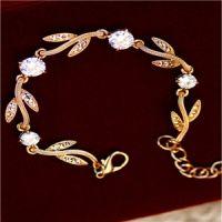 韩版锌合金手链 锌合金镶钻戒指 虎门锌合金饰品加工厂